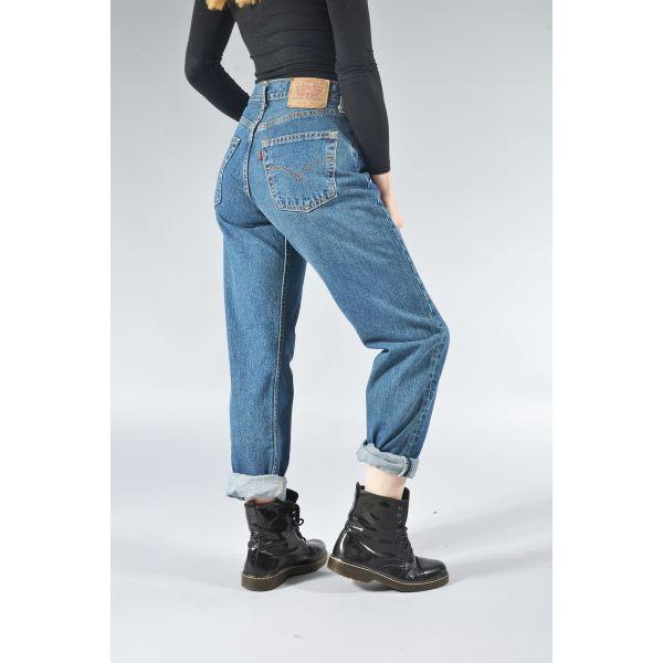 LEVI'S High Waisted (Plus Size) Mom / Boyfriend Jeans Various Colours & Sizes