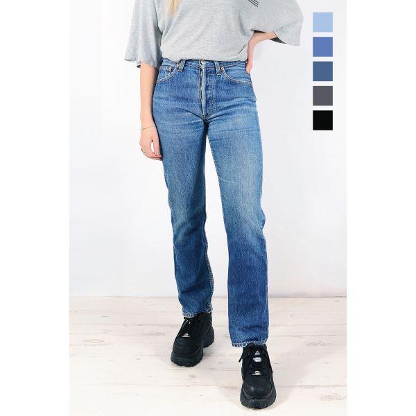 Vintage Levis 501 High Waisted Mom / Boyfriend Jeans