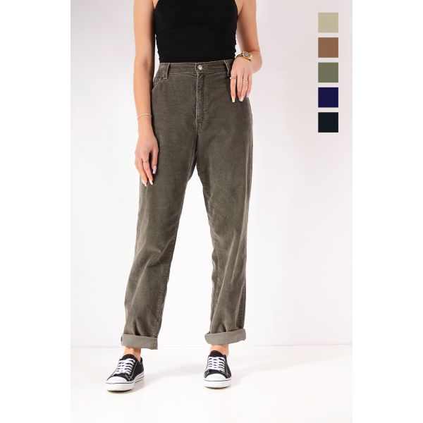 Vintage LEVI'S 550 High Waisted Relaxed Tapered Mom Corduroy Trousers Various Colours & Sizes